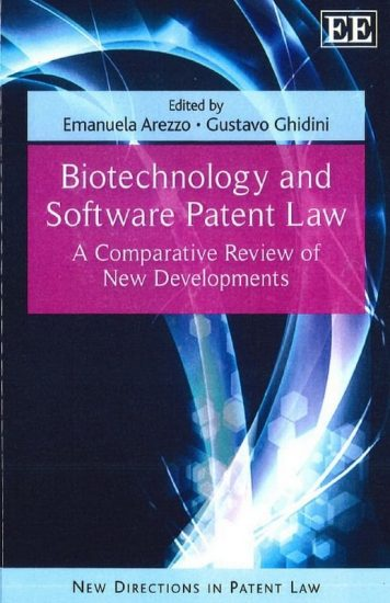 Biotechnology and Software Patent Law